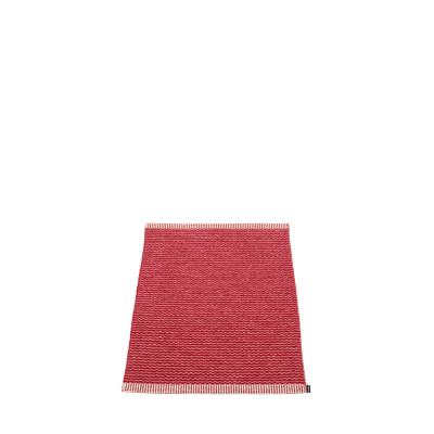 Teppich Mono | Blus-Dunkelrot
