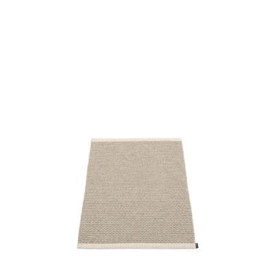 Teppich Mono   Leinen-Vanille