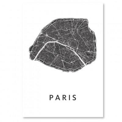City Map Paris