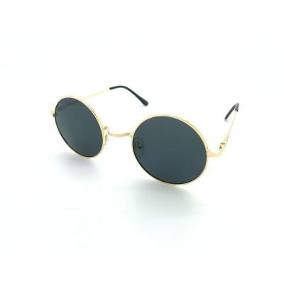 Sonnenbrille Paris | Gold & Schwarz
