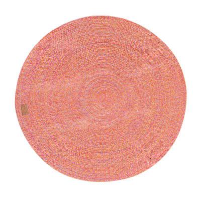 Runder Teppich Parker 130 cm   Rot