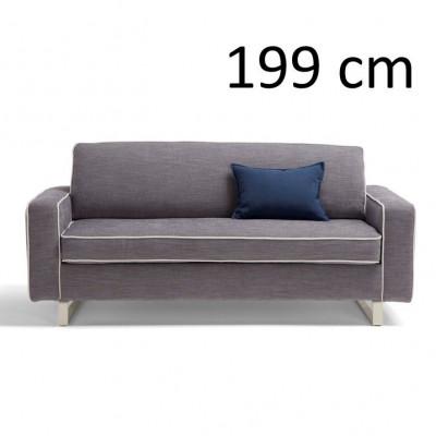 Sleeping Sofa Pascal L 199 cm | Grey