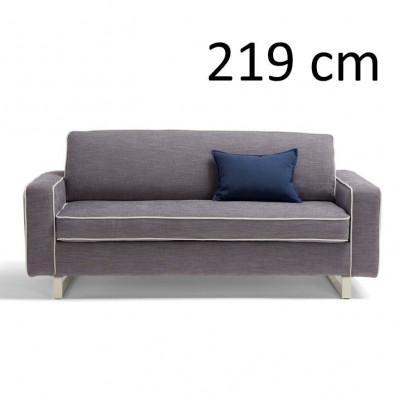 Sleeping Sofa Pascal L 219 cm | Grey