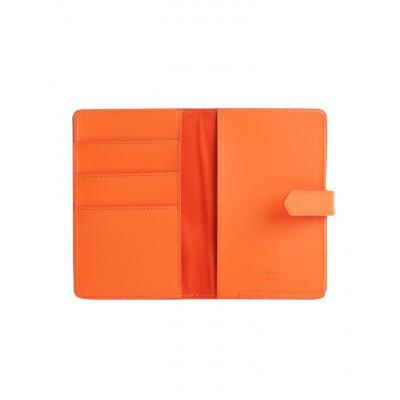 Reisepasshalter Tangerine Orange