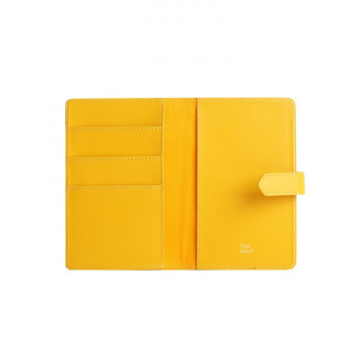 Reisepasshalter Gelbgold