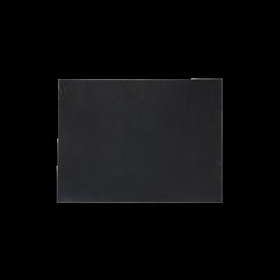 Patti Leather Writing Pad   Black