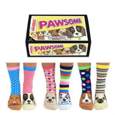 Socken Pawsome | 6er-Satz