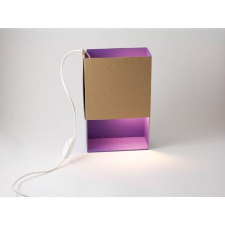 Luciferdoosje-Licht in Violet
