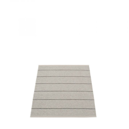 Kunststoffteppich Carl   Warmes Grau-70 x 90 cm