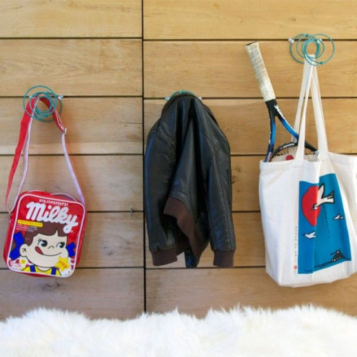 Wall Hook Noster Set of 3 | Denim Blue