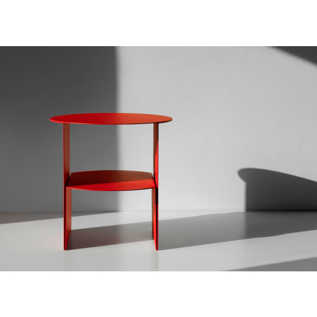 Side Table Passage   Red