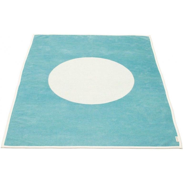 Blanket Turquoise/Vanilla