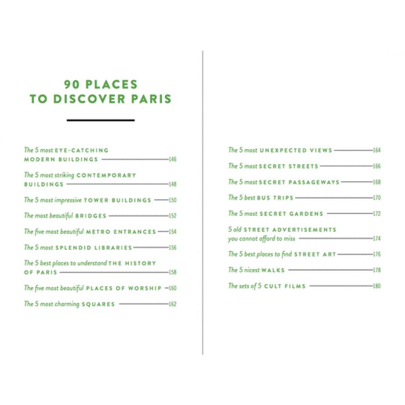 Die 500 verborgenen Geheimnisse von Paris