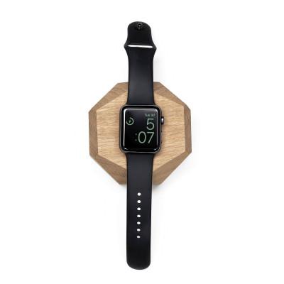 Apple Watch Dock Polygonal | Oak