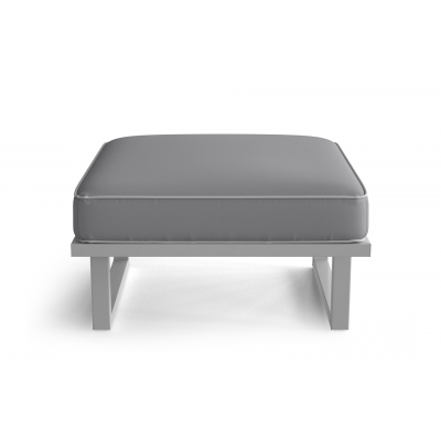 Outdoor Pouf Angie | Grey