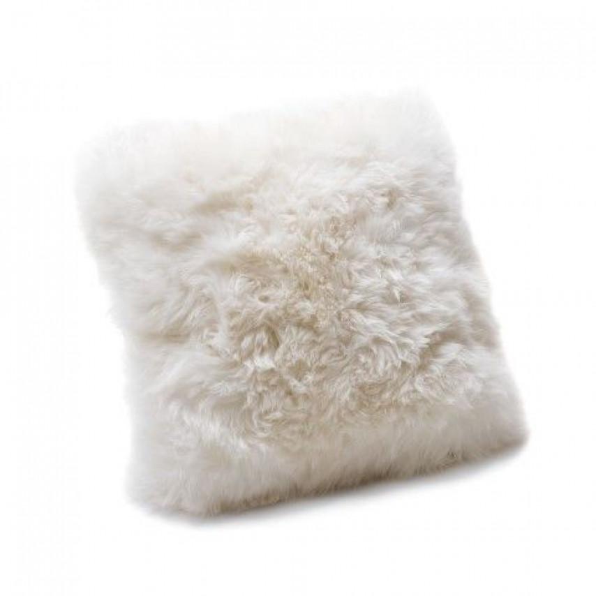 Kussen uit Schapenvacht | Wit