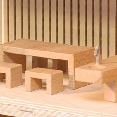 Möbel für das Puppenhaus Sibis Villa