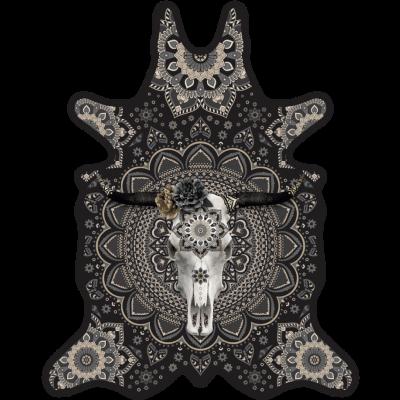 Vinyl Floormat Bull   Grey