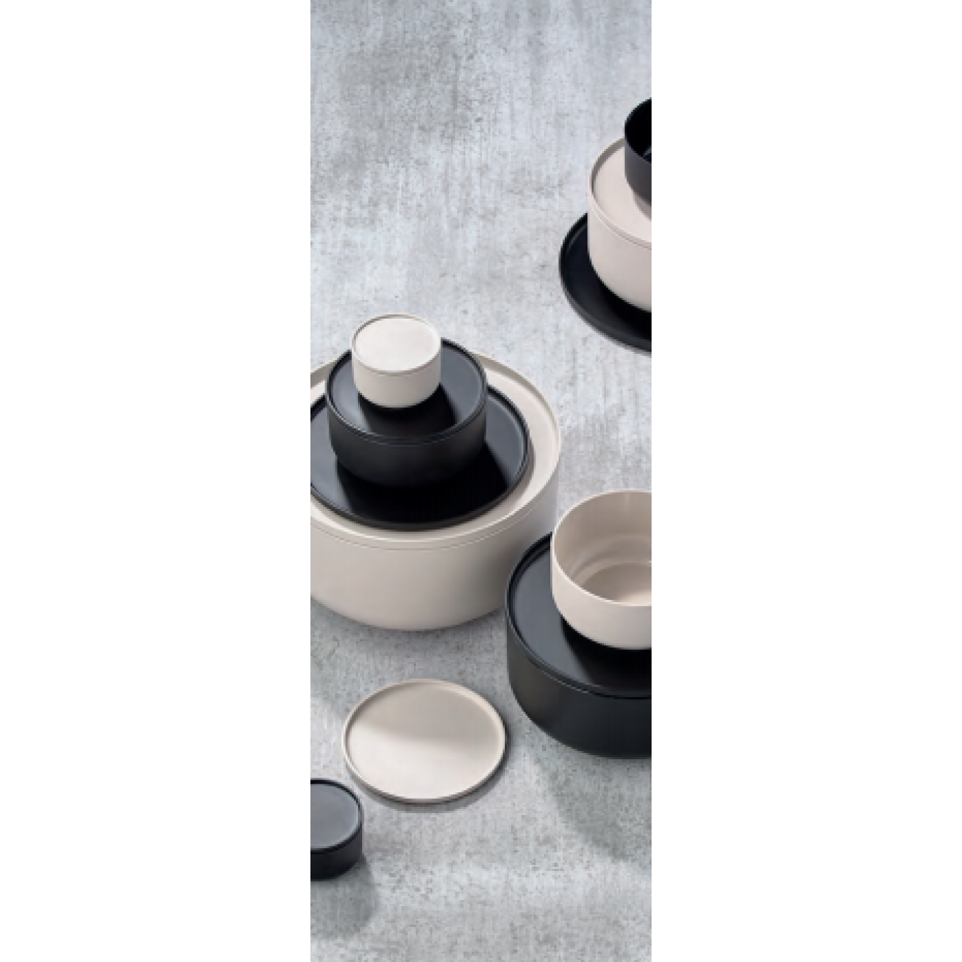 Schüssel & Schüssel Peili | Cool Grey