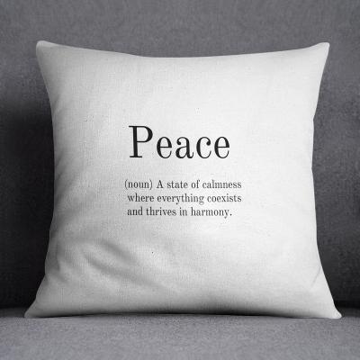 Kissen | Frieden