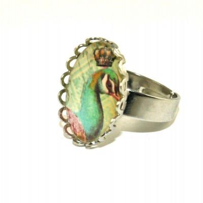 Pfau-Spitzen-Ring