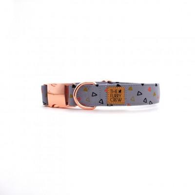 Verstellbares Hundehalsband   Pearl Peach