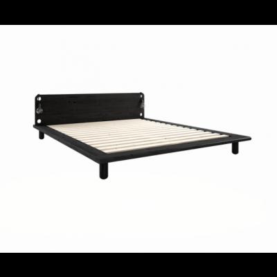 Peek Bed Frame + Bed Lamps | Black