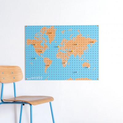 Stecktafel | Weltkarte