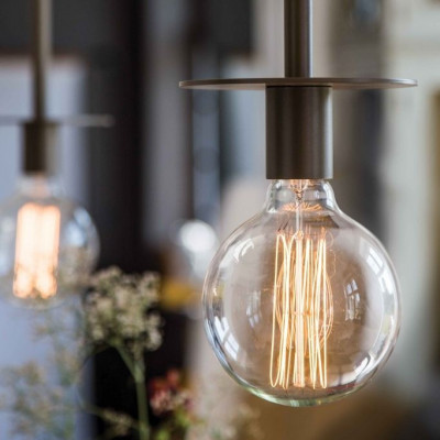 La Lampe Pendelleuchte Fixed | Kupferbraun