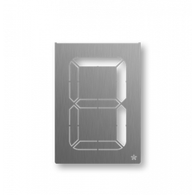 Hausnummer Digital 8