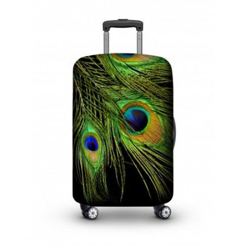 Luggage Cover   Peacock