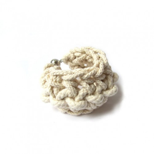 Perle Bracelet Ecru