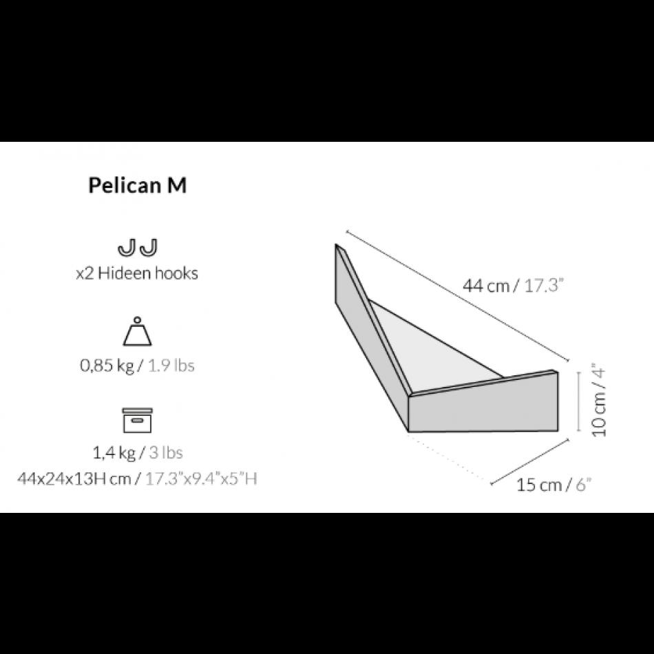 Wall Storage Unit Pelican | Oak