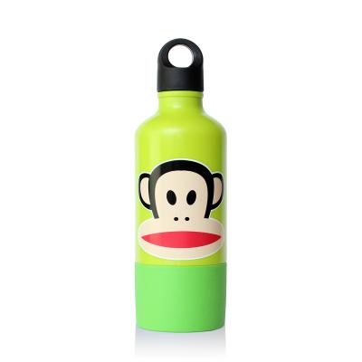 Trinkflasche mit Becher Grün