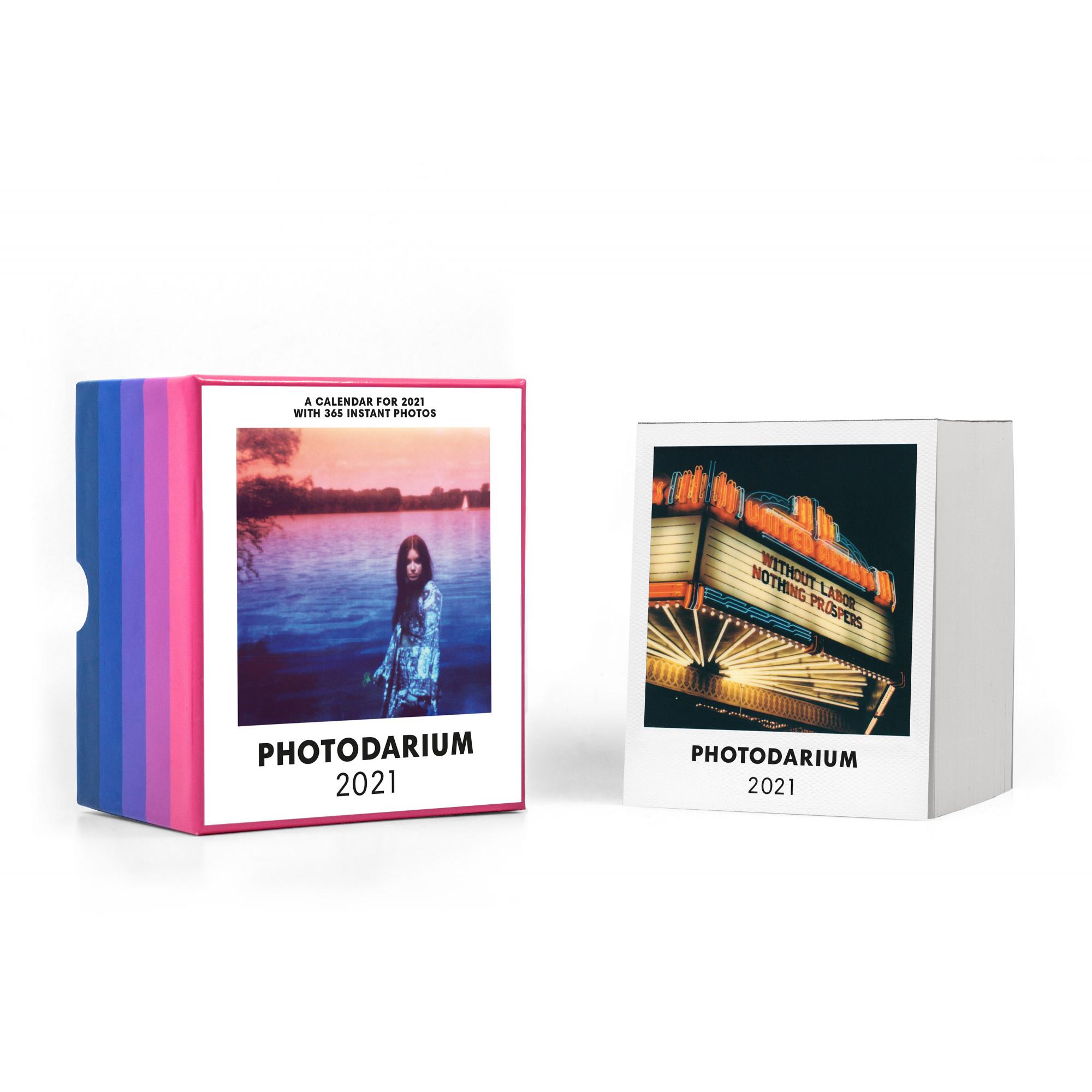 Polaroid-Kalender Photodarium 2021
