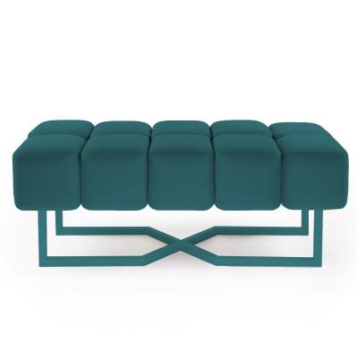 Sofa Puffy M | Ozeangrün