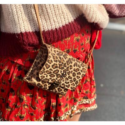 Umhängetasche Kate Medium | Leopard Hell