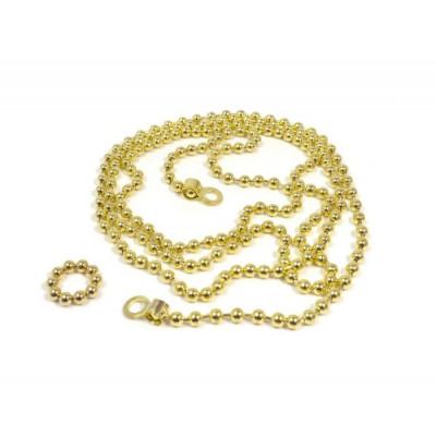 Fotoleine Perle 10 Magnete | Messing