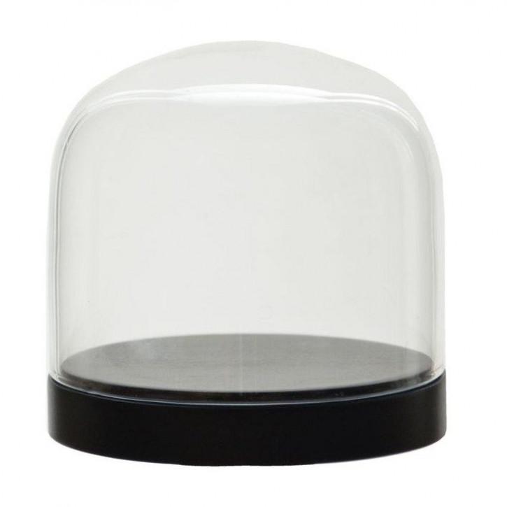 Cloche en Verre Pleasure Domes   Noir