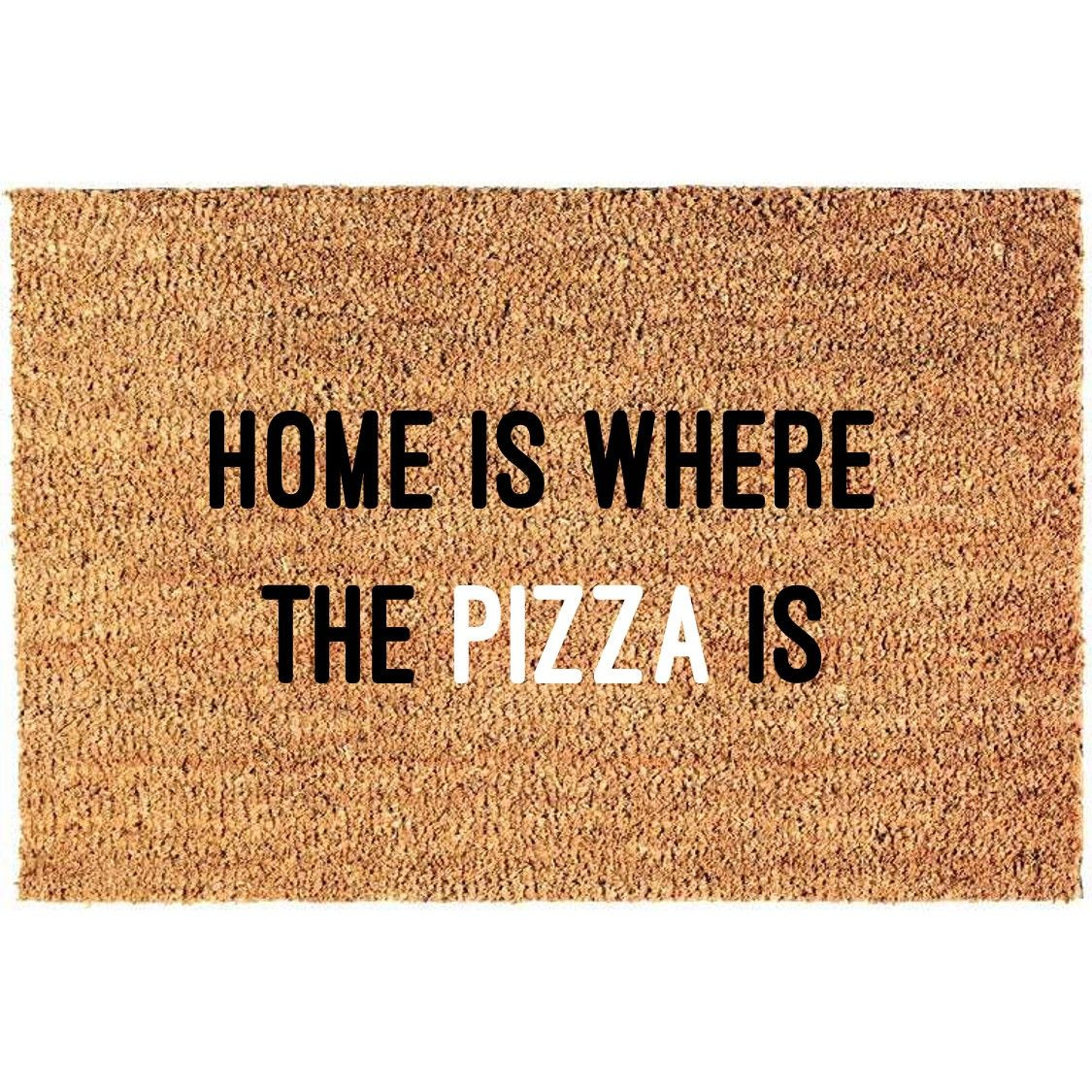 Fußmatte | Pizza