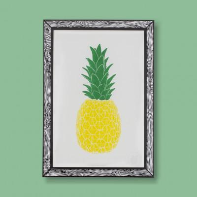 Art Print Piña | Gelb & Grün