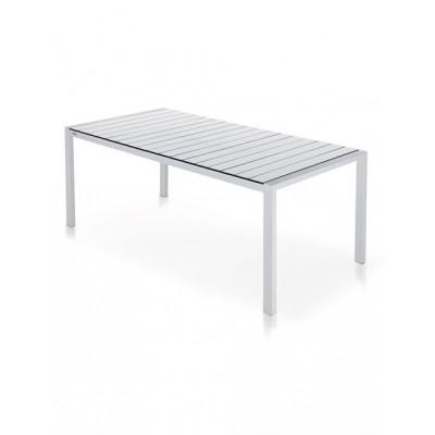 Piano-Esstisch Weiß