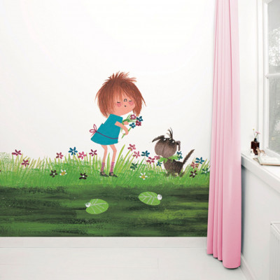 Wallpaper Stories | Picking Flowers