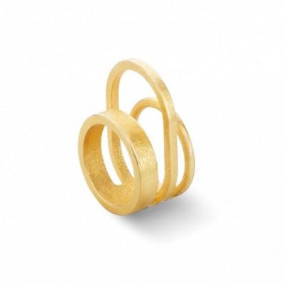 Gerahmter Ring #3 | Gold