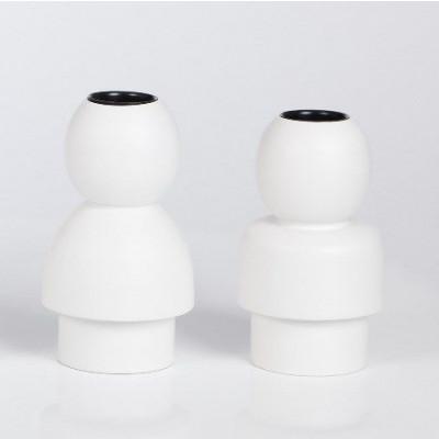 Children Candleholders White- set of 2