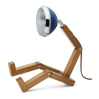 Tischlampe Mr. Wattson | Kobra-Blau
