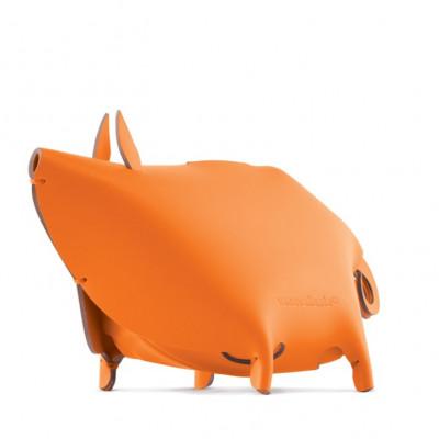 Schreibtischorganisator Ferkel | Orange