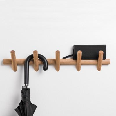 Coat Hanger METER 5 | Oak