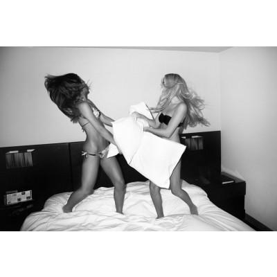 """Art Photograph """"Pillow Fight"""""""