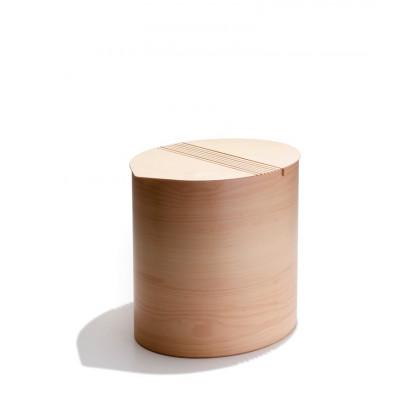 Ovale Wäschekorb Pinkovo | Natur